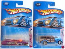 Hot Wheels Crank ITZ '40s Woody 4/5 #146 & Custom '59 Cadillac 1/5 #143 2004
