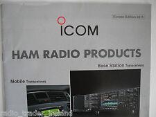 Icom (genuine catoluge seulement)... radio _ trader _ irlande.