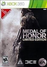 Medal Of Honor Limited Edition Xbox 360 Game Tested Great Condition Guaranteed!