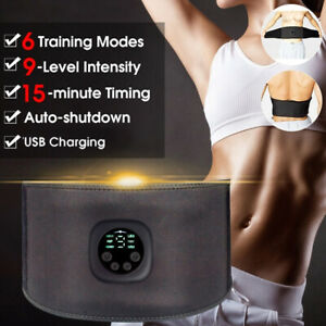 EMS Trainer ABS Stimulator Bauchmuskeltrainer Trainingsgerät Elektro Exerciser