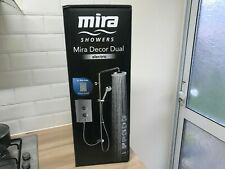 New Mira Decor Dual Electric Shower Silver 10.8kW 5013181104714 RRP£330