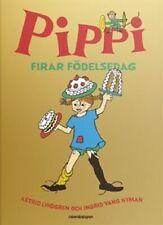 Buch Astrid Lindgren SCHWEDISCH Pippi Långstrump Langstrumpf Firar Födelsedag