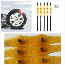 5 PCS Car Winter Anti-skid Chains High Quality Wheel Tyre Thickened Tire Tendon