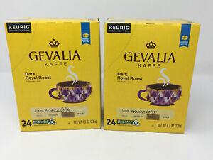 Gevalia Dark Royal Roast Arabica Coffee Keurig K-Cups - 48 Count