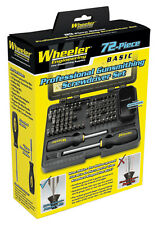 Wheeler 72pc Professional Gunsmithing Screwdriver Kit #776737