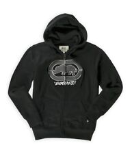 Ecko Unltd. Mens Cross Country Zip Hoodie Sweatshirt black XS