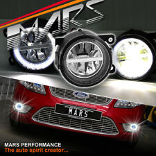 High Power LED Angel Eyes Bumper Driving Fog Lights Lamp for Ford Falcon FG BF