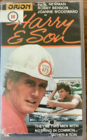 Harry and Son VHS 1984 Drama with Paul Newman Orion Rank Pre-cert Video