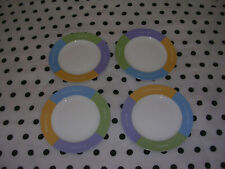 """New listing Mary Kay """"Inspirational Words to Live By"""" 4 Small Salad Dessert Plates"""