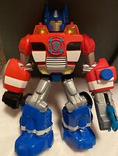 Lot Optimus Prime Talking Electronic Rescue Bot +2 Bonus Transformers