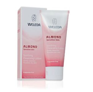 WELEDA ALMOND Sensitive Soothing Cleansing Facial Lotion 75ml