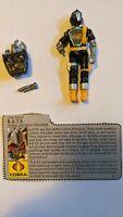 Vintage 1986 G.I. Joe ARAH B.A.T.S. Bats (v1) Complete File Card Action Figure