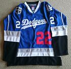 NHL Replica Dodgers Hockey Jersey.Customizable. Any Size,Name, and Number.