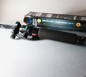 Velbon Ultra Stick Super 8 Monopod (Black) with Benro Ball Head