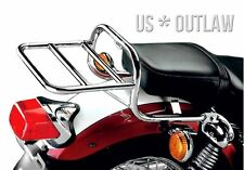 luggage and topbox rack chrome for Yamaha XV535 Virago XV 535 baggage rack XV400