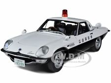 MAZDA COSMO SPORT JAPANESE POLICE 1/18 DIECAST CAR MODEL BY AUTOART 75935