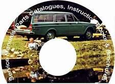 VOLVO 140 142 144 145 Parts & Service Manual CD, catalogs &extra!