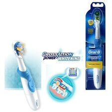 Braun ORAL-B B1010 Cross Action POWER Dual Clean Crest White electric TOOTHBRUSH