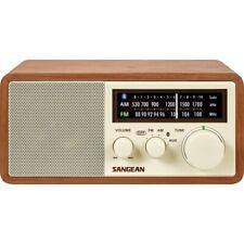 Sangean Wr-16 Am/Fm/Bt Wood Cabinet Radio