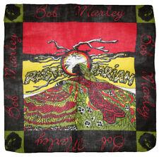 "22""x22"" Rastafarian Weed Marijauana Leaf Rasta 100% Cotton Bandana"