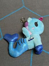 Tokidoki Marina Blue Mermicorno Plush Clip On Keychain