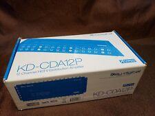 Key Digital KD-CDA12P 12 Channel HDTV Distribution Amplifier