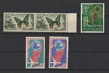 1960/63 MADAGASCAR  5 timbres aériens / T1510