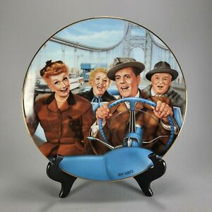 I Love Lucy Collector Plate Proof Prototype Calif. Here We Come Jim Kritz