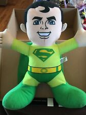 "D.C. Super Friends Heroes Green Superman 12"" Plush"