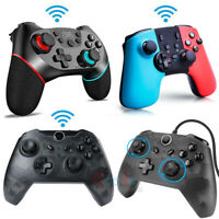 Pro Wireless Controller for Nintendo Switch Generic Version - Classic Black/Red