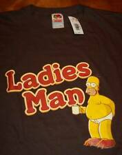 THE SIMPSONS HOMER SIMPSON LADIES MAN T-Shirt LARGE NEW w/ TAG