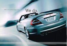 2005 Mercedes Brochure: C,CLK,E,S,SL,CL,M,G Class,55,AMG,ML 500,600,320,240,230,