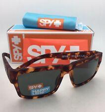New SPY OPTIC Sunglasses MONTANA Soft Matte Camo Tortoise Frames with Grey-Green