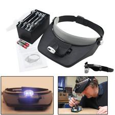 Lupenbrille Profi kopflupe Led Verstellbar mit licht Schmucksacheschätzung