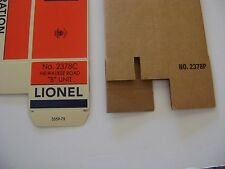 Lionel 2378 Milwaukee Road  AB Boxes (set of two-with one insert)