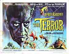 Terror Poster 03 0 A3 Box Canvas Print