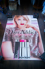 DIOR JENNIFER LAWRENCE B 4x6 ft Bus Shelter Original Celebrity Fashion Poster