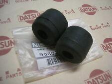 Datsun 1200 Ute Tail Gate Bumper Rubbers Genuine (Fits NISSAN SUNNY TRUCK B120)