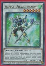 Yugioh - Stardust Assault Warrior - Holographic Ultra Rare Limited Edition Card