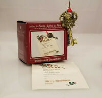 Carlton Heirloom Ornament 2008 Letter to Santa - #CXOR070T-DB