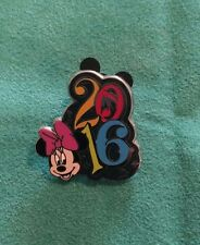 2016 Year & Character Musical Booster Set Walt Disney Pin Minnie Mouse Collect