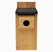 Wild Wings WWCH3 Cedar Blue Bird Box House (New With Minor Defect)