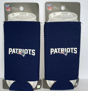 2 Pack / NFL New England Patriots 24oz TallBoy Neoprene