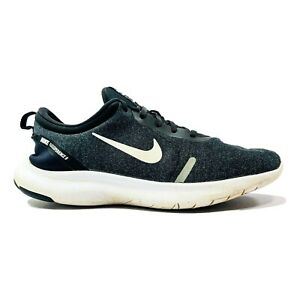 Nike Flex Experience 8 Womens Running Shoes Size 11 Wide Black White AR4948-013