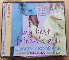 AUDIO BOOK - DOROTHY KOOMSON - My Best Friend's Girl - Adjoa Andoh 3 CDs NEW
