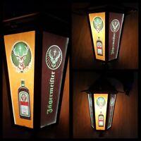 Pub Bar Jägermeister light lantern Wall jagerbomb Lantern Sign man cave Light