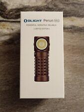 Olight Perun Mini Desert Tan Limited Edition 1000 Lumen EDC Flashlight