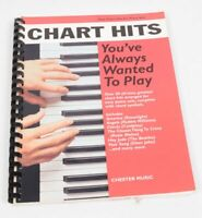 Chart Hits You`ve always wanted to play Notenbuch für Klavier