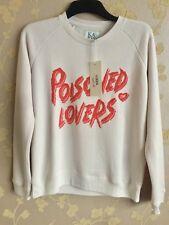 zoe karssen sweatshirt poisioned lovers Orchid Tint Size:M BNWT