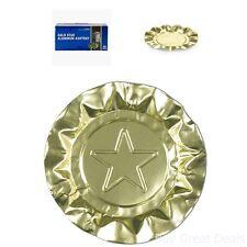 Royal Premium Gold Star Disposable Foil Aluminum Ashtrays Bulk Buy Of 100